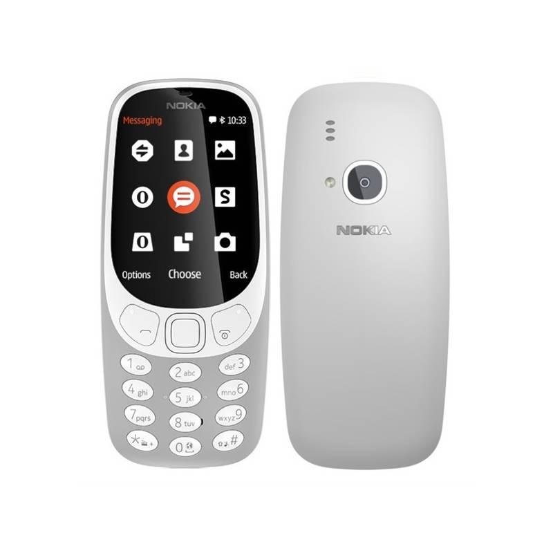 Mobilný telefón Nokia 3310 (2017) Dual SIM (A00028270) sivý