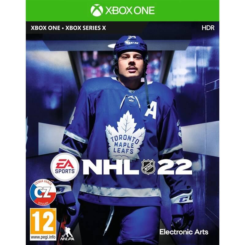 Hra EA Xbox One NHL 22 (EAX354553)