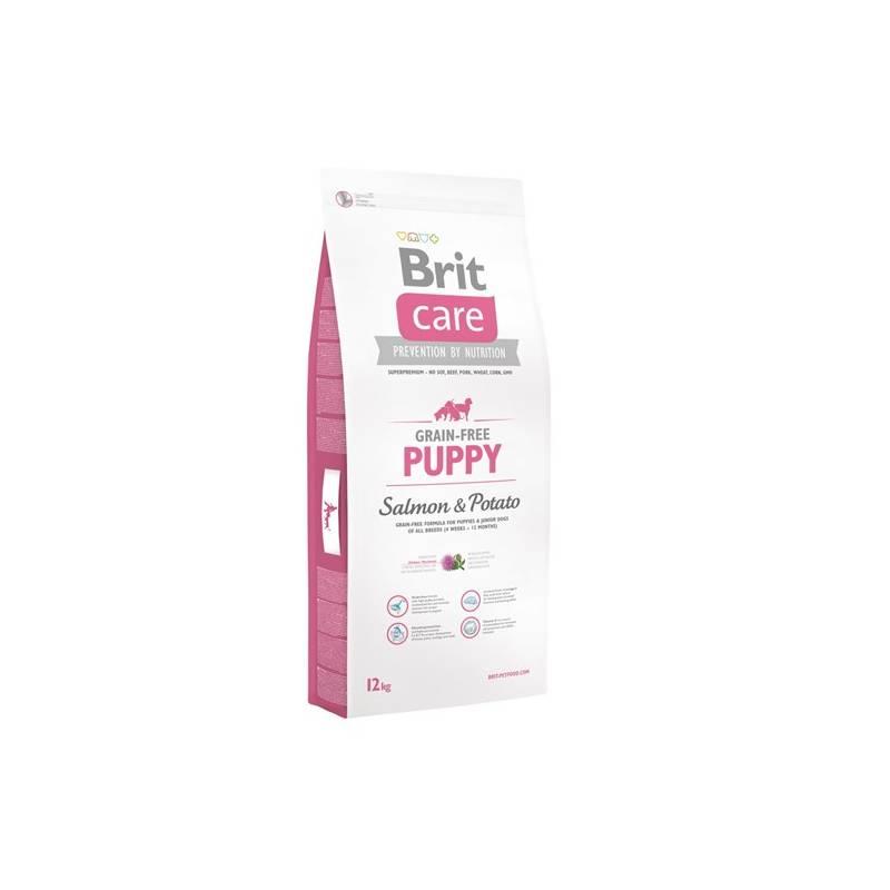 Granule Brit Care Grain-free Puppy Salmon & Potato 12 kg Granule Brit Care Grain-free Puppy Salmon & Potato 3 kg (zdarma)Antiparazitní obojek Scalibor Protectorband pro psy - 48 cm
