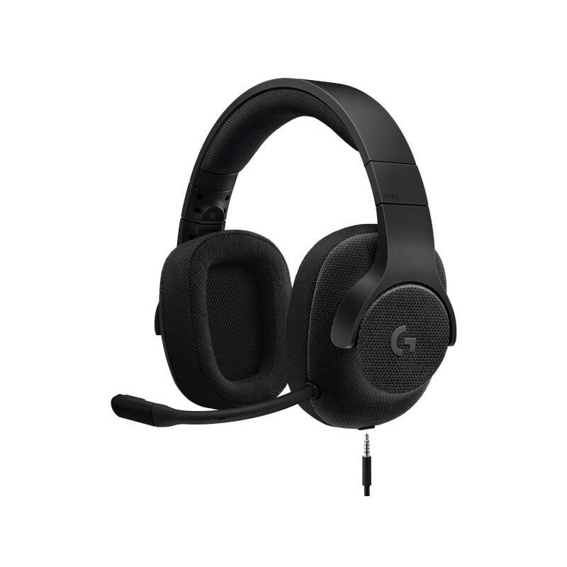 Headset Logitech Gaming G433 7.1 Surround (981-000668) čierny