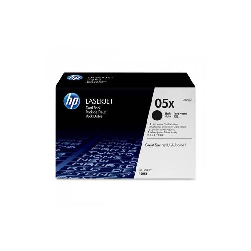 Toner HP 05X, 6500 stran (CE505X) čierny + Doprava zadarmo