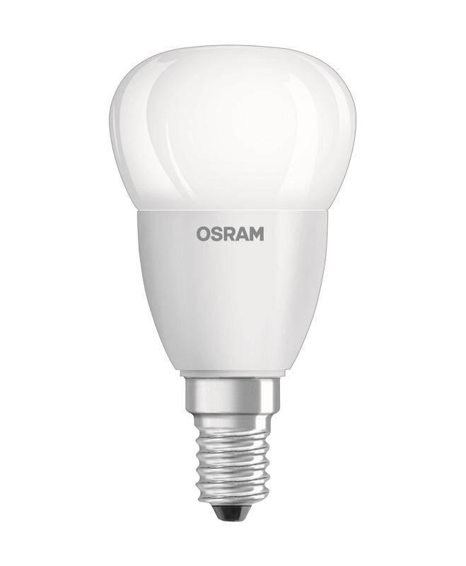 LED žiarovka Osram klasik, 5W, E14, neutrální bílá (444656)