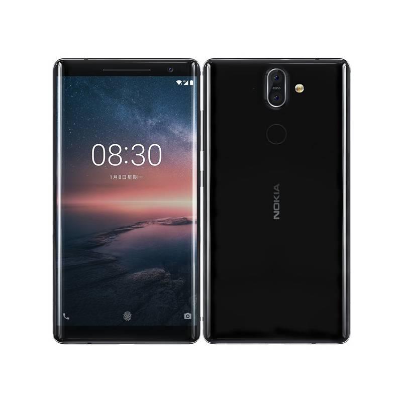 Mobilný telefón Nokia 8 Sirocco (11A1NB01A05) čierny + Doprava zadarmo