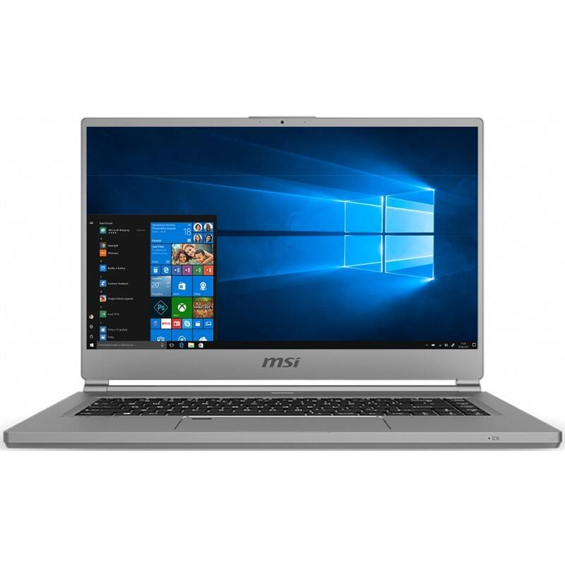 Notebook MSI P65 Creator 9SE (P65 Creator 9SE-1098CZ) sivý