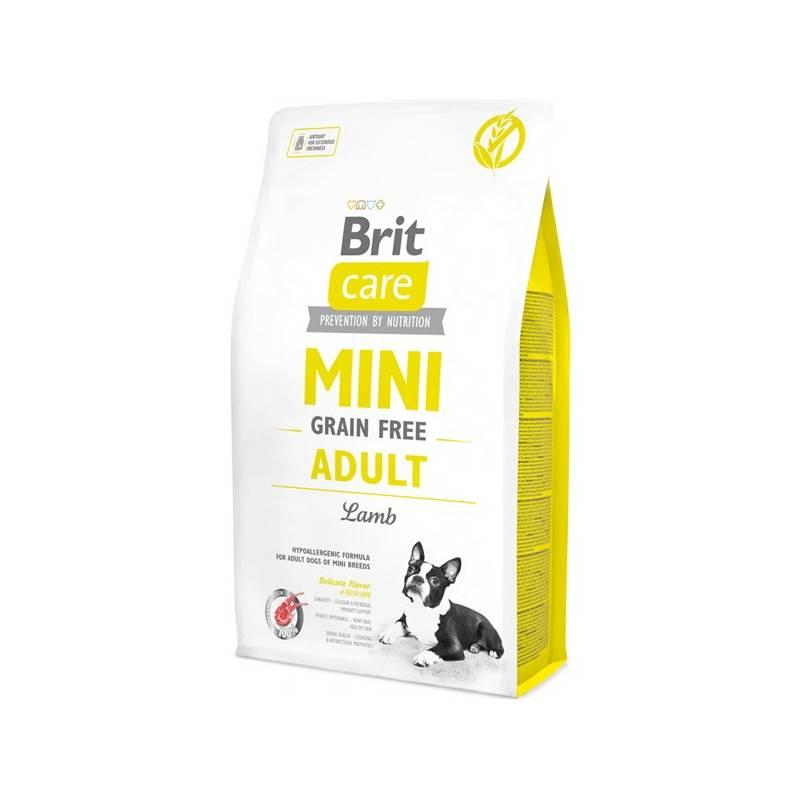 Granule Brit Care Dog Mini Grain Free Adult Lamb 7 kg