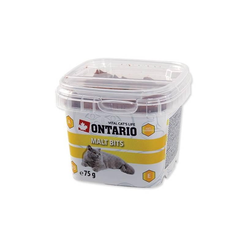 Pochúťka Ontario Snack Malt Bits 75g