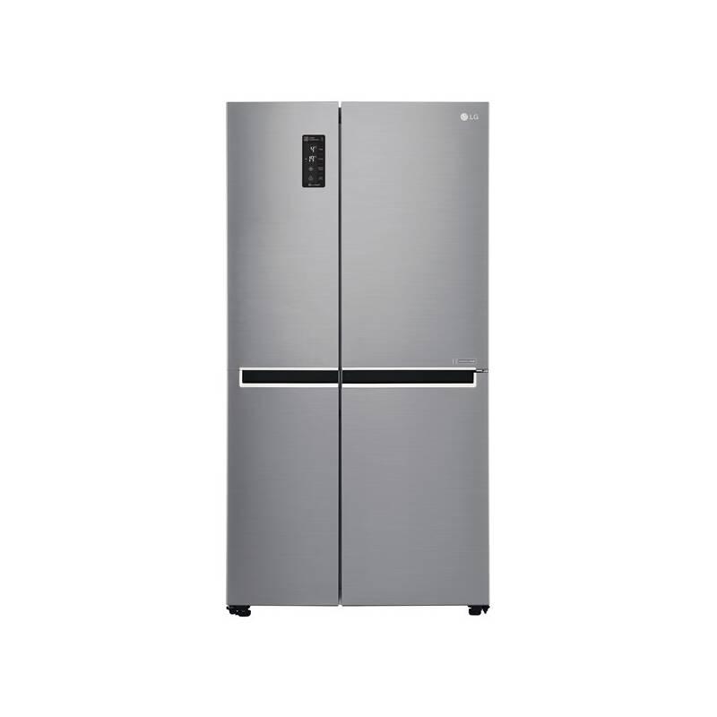 Kombinácia chladničky s mrazničkou LG GSB760PZXZ nerez + Doprava zadarmo