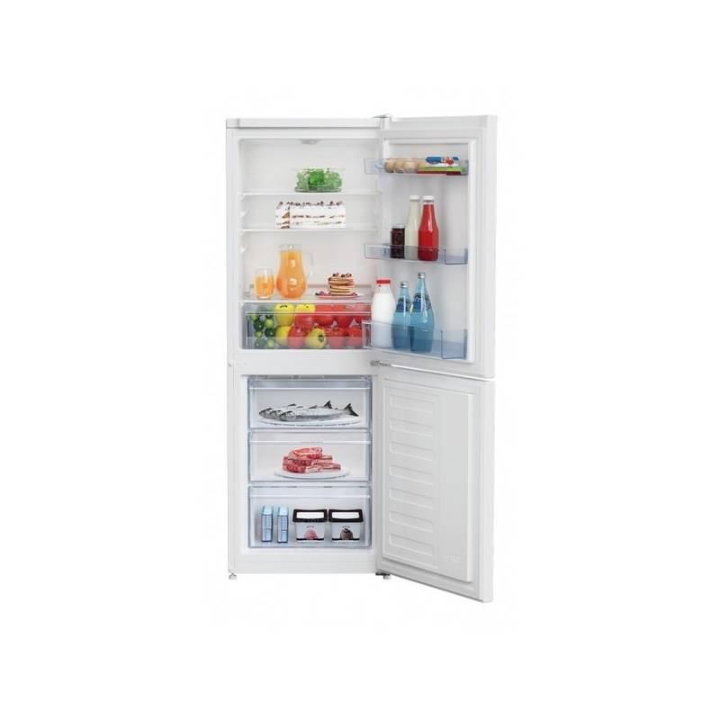 Kombinácia chladničky s mrazničkou Beko RCSA 240 K20W biela + dodatočná zľava 10 %