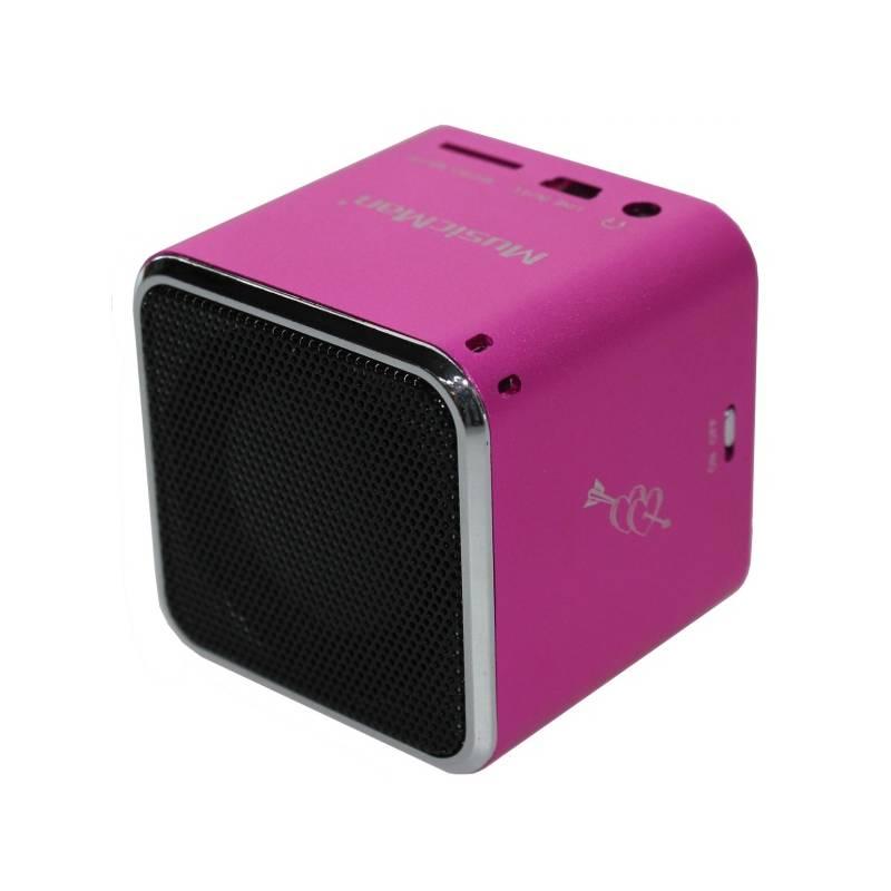 Prenosný reproduktor Technaxx Mini MusicMan (3531) ružový