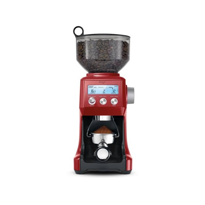 Mlynček na kávu SAGE BCG820 červený + Doprava zadarmo