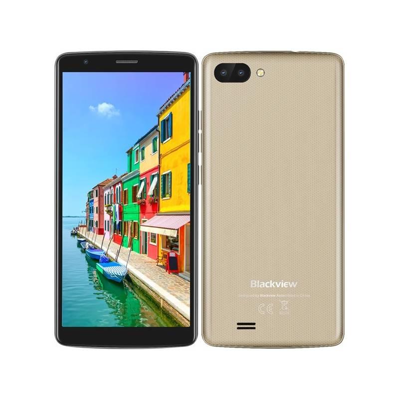 Mobilný telefón iGET Blackview GA20 Dual SIM (84000434) čierny/zlatý Software F-Secure SAFE, 3 zařízení / 6 měsíců (zdarma)