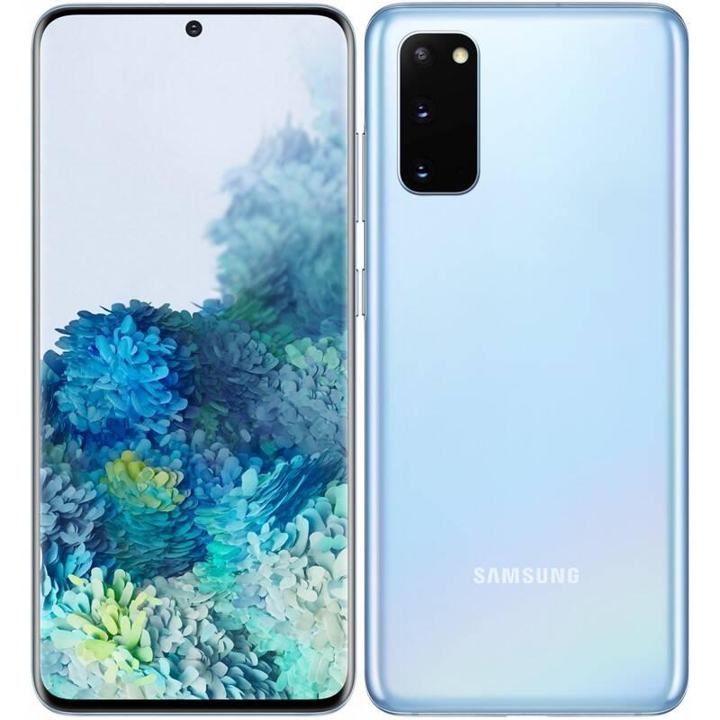 Mobilný telefón Samsung Galaxy S20 (SM-G980FLBDEUE) modrý + Doprava zadarmo