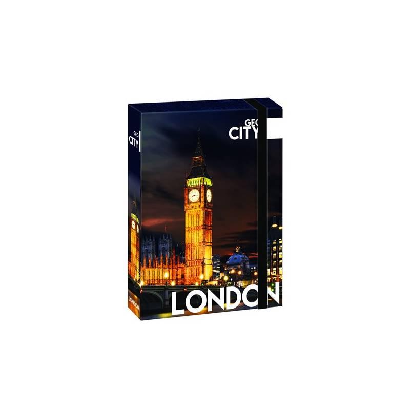 Dosky na zošity P + P Karton GEO CITY London A4 Jumbo