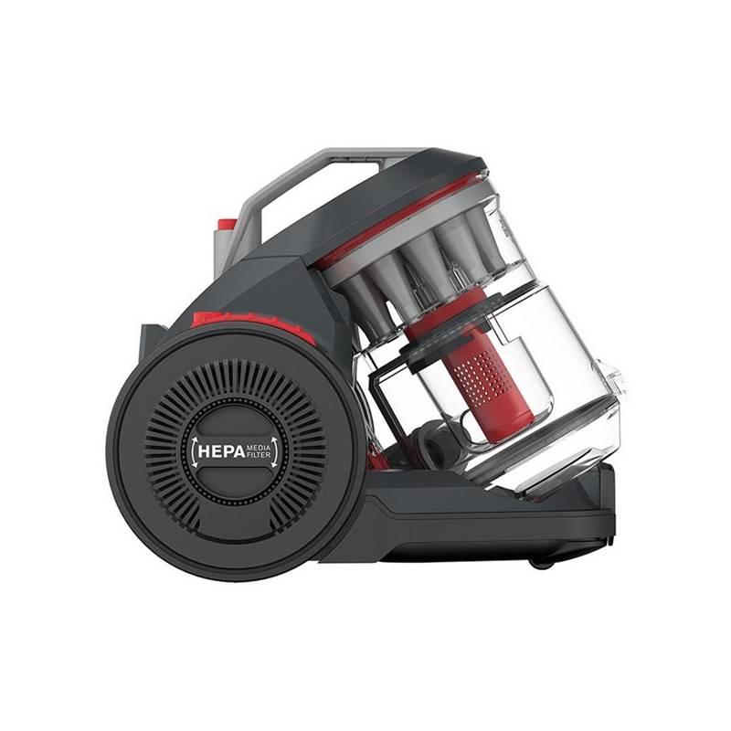 Vysávač podlahový Dirt Devil Infinity AC Plus sivý + Hubice Dirt Devil M266 v hodnote 49.00 € + Doprava zadarmo