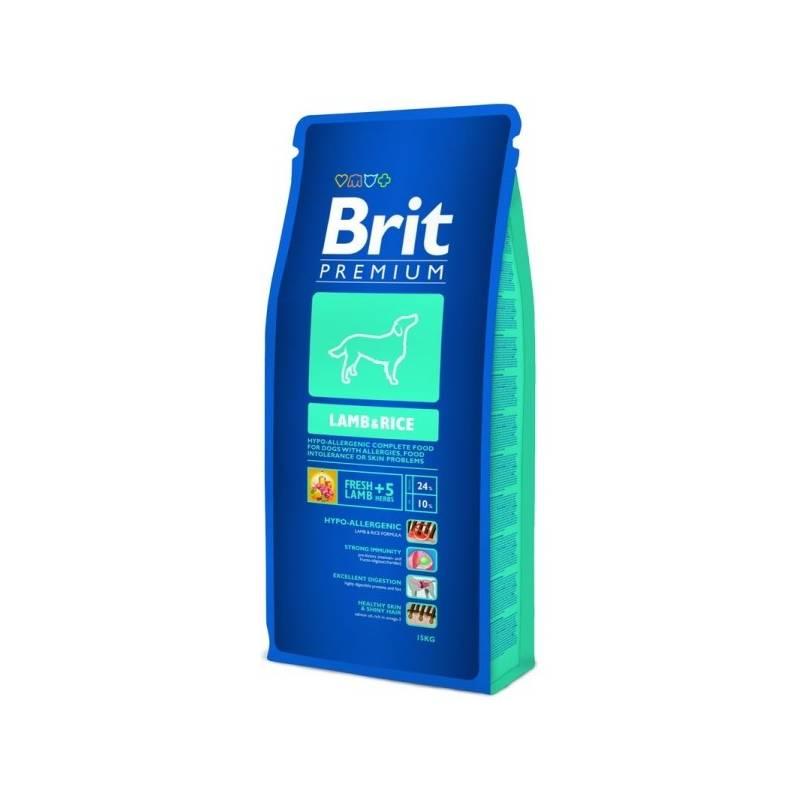 Granule Brit Premium Dog Lamb & Rice 15 kg