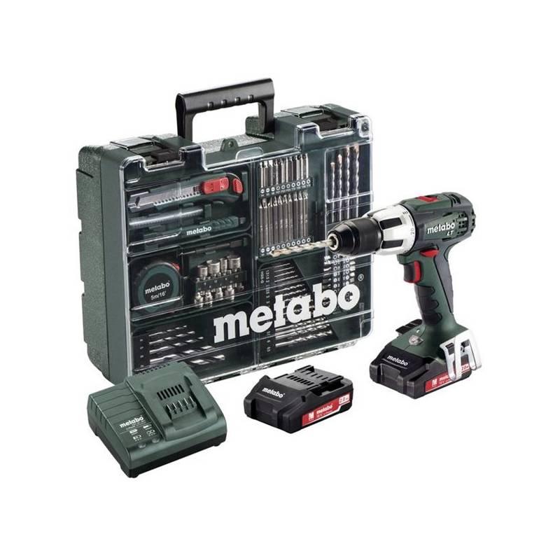 Aku vŕtačka Metabo SB 18 LT MD 2x2,0Ah 1-13m zelená + Doprava zadarmo