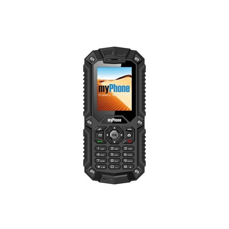 Mobilní telefon myPhone HAMMER DUAL SIM (TELMYHHAMBK) černý