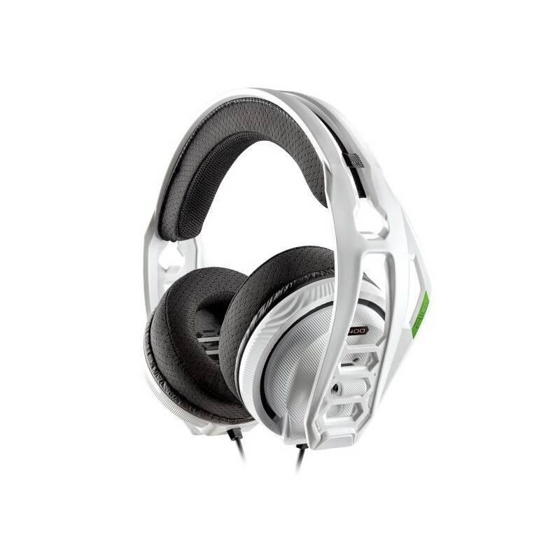 Headset Nacon RIG 400HX pro Xbox One, Xbox Series X (RIG400HXW) biely
