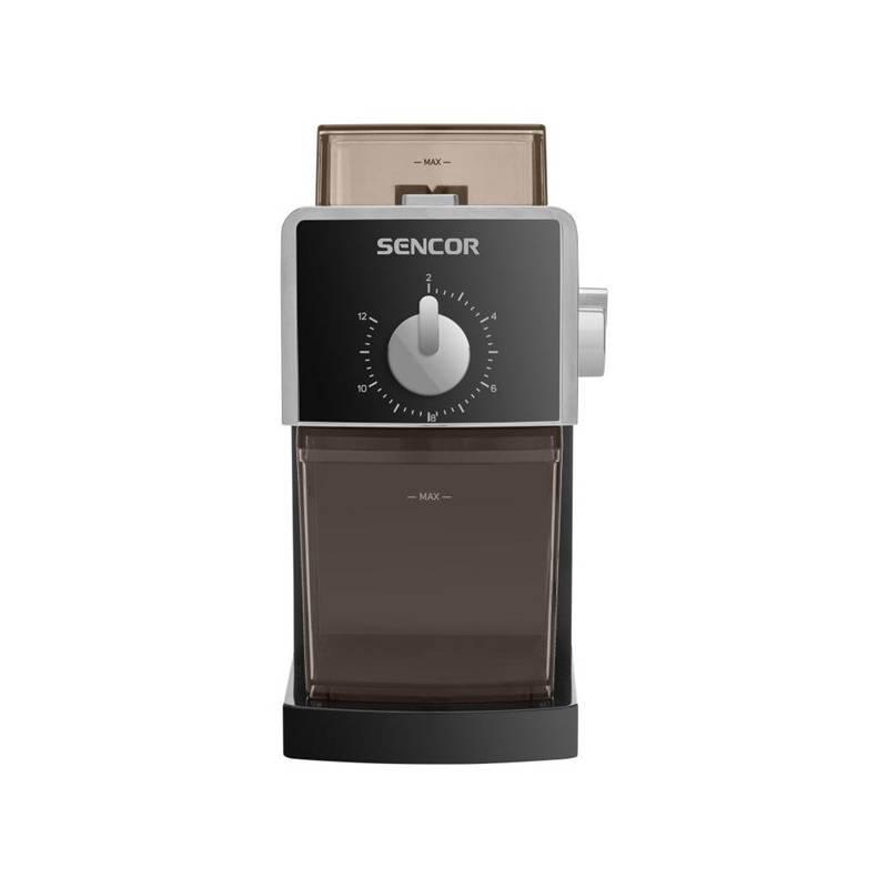 Mlynček na kávu Sencor SCG 5050BK (444151) čierny + Doprava zadarmo