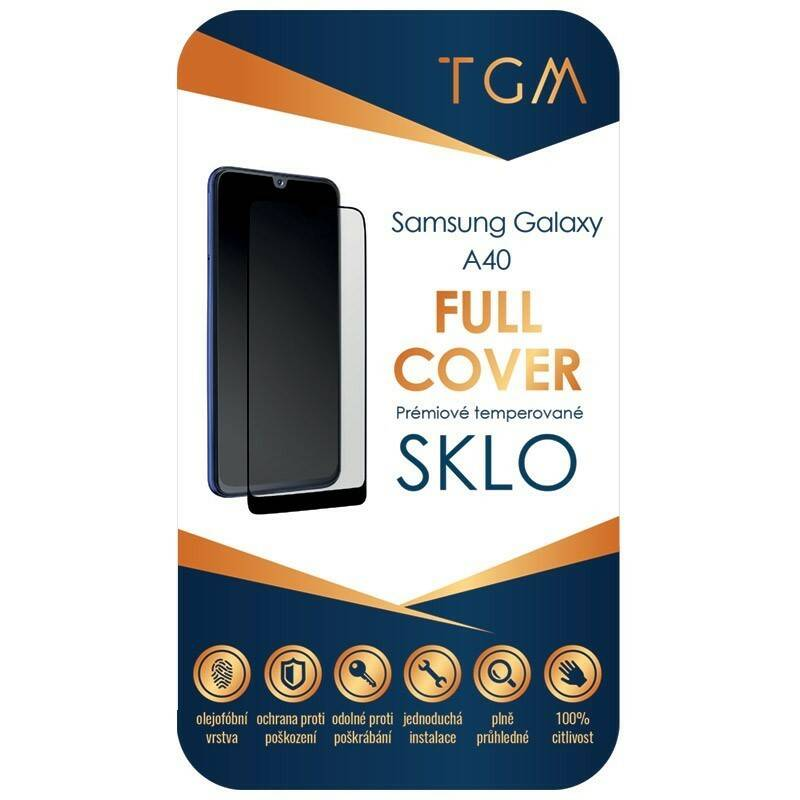 Ochranné sklo TGM Full Cover na Samsung Galaxy A40 (TGMSGA40)