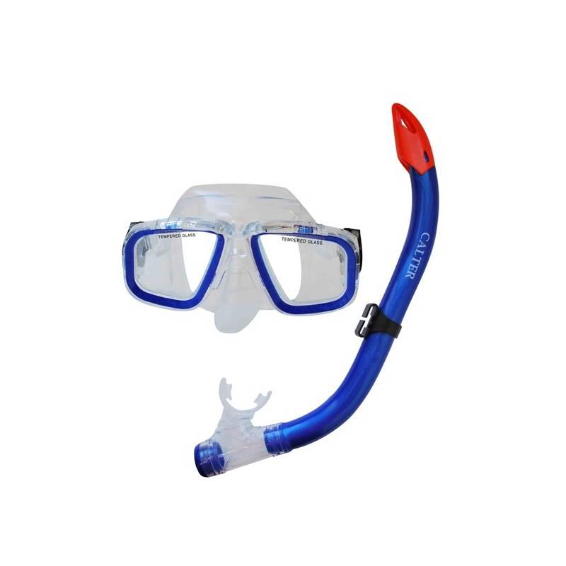 Sada na potápanie Calter Junior S9301+M229 P+S modrý