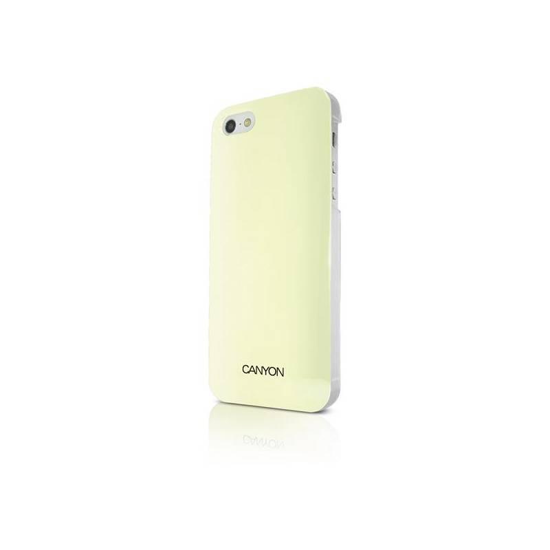 Kryt na mobil Canyon CNA-i5C03W pro Apple iPhone 5 + Stylus (CNA-i5C03W)  žltý fc61a39d3cb