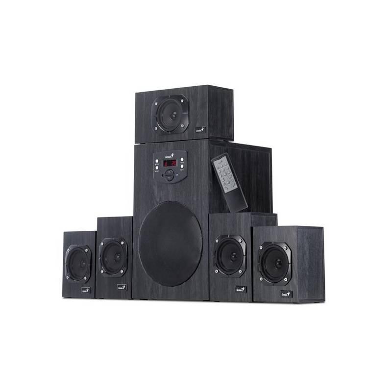 Reproduktory Genius SW-HF 4500 5.1 (31730979100) čierna