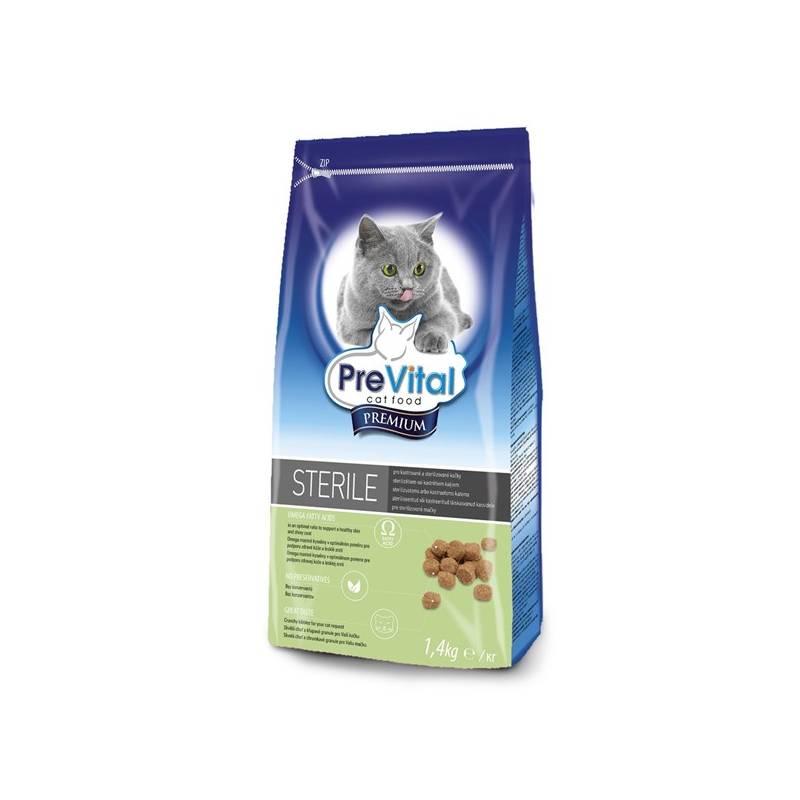 Granule PreVital Premium pro kastrované a sterilizované kočky 1,4 kg