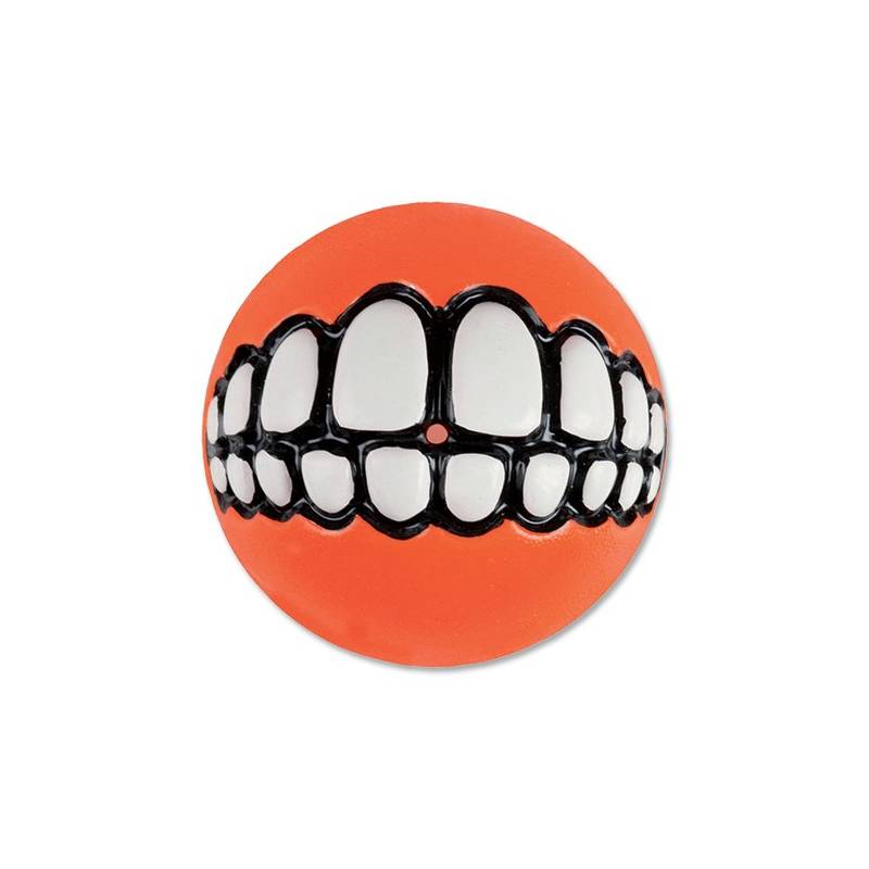 Hračka Rogz Grinz míček 7,8cm oranžová