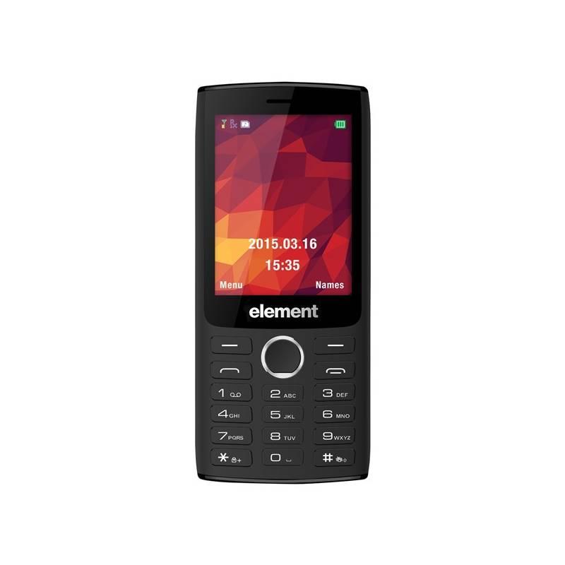 Mobilný telefón Sencor Element P030 (30014623) čierny
