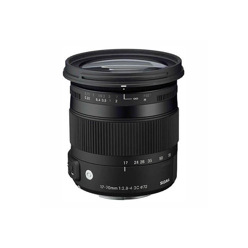 Objektív Sigma 17-70mm F2.8-4 DC MACRO OS HSM Nikon čierny + Doprava zadarmo