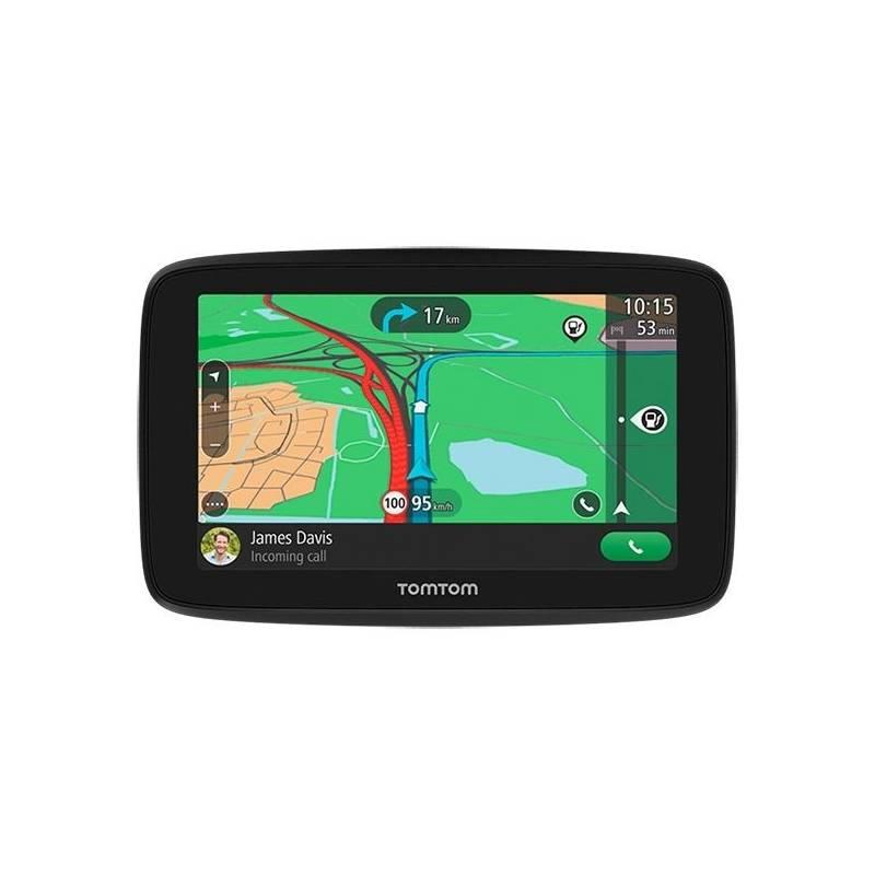 "Navigační systém GPS Tomtom GO ESSENTIAL 5"" Traffic EU45 Lifetime černá"