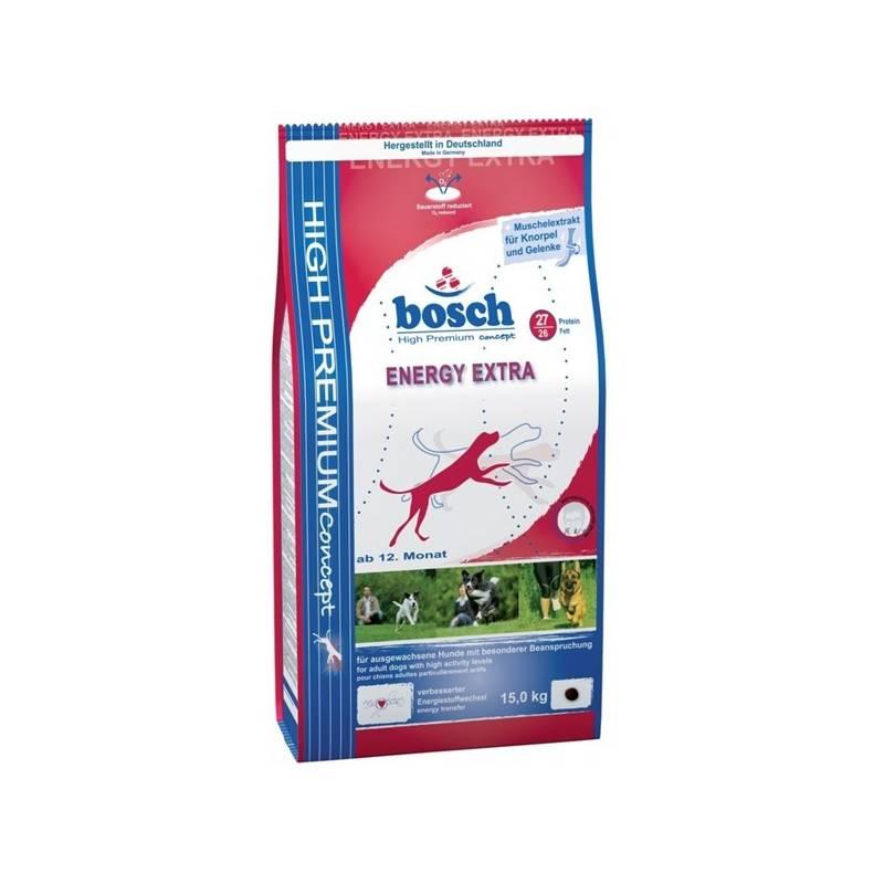 Granule Bosch Energy Extra 15 kg, pro dospělé psy