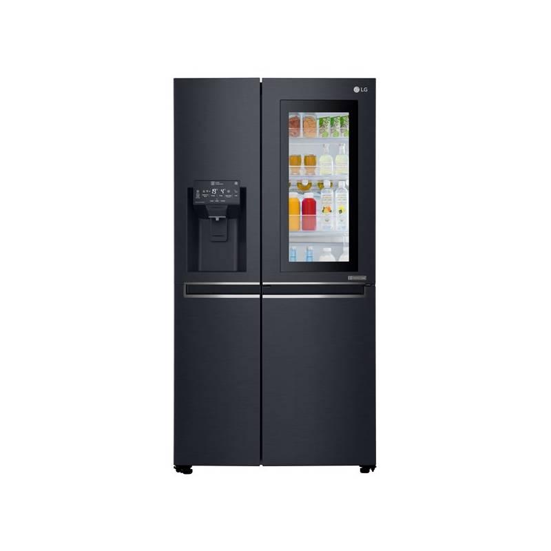 Americká lednice LG GSX960MTAZ černá + LG 10 let záruka na Lineární kompresor