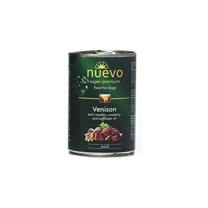 Konzerva Nuevo Dog Adult zverinové menu 800 g