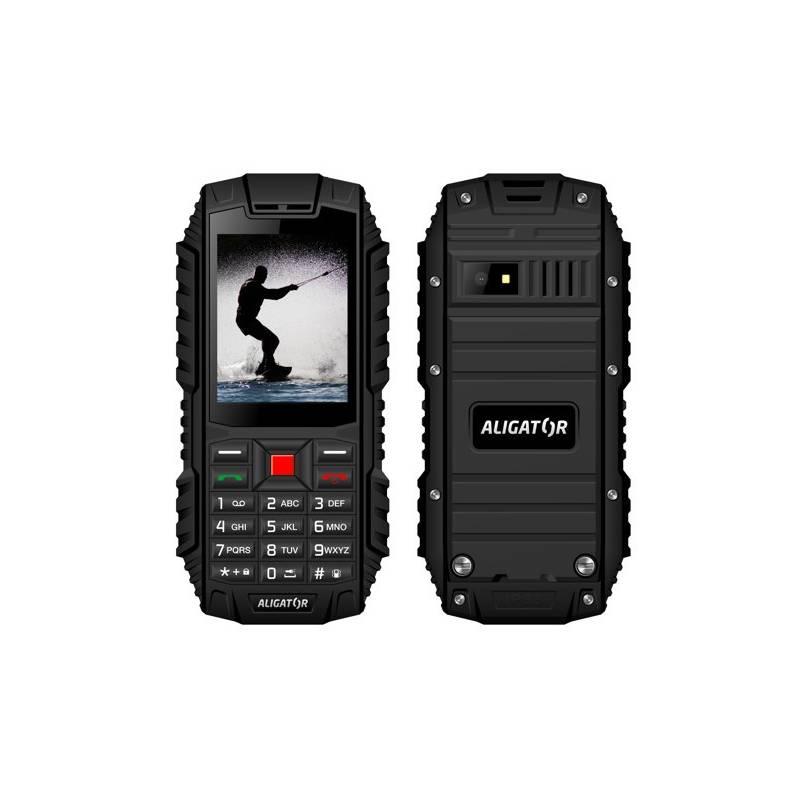 Mobilný telefón Aligator R12 eXtremo (AR12BB) čierny