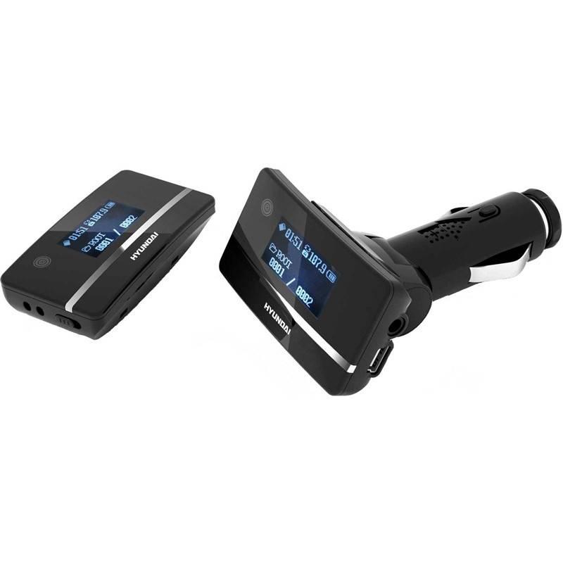 Transmitter Hyundai FMT 212 MP černý
