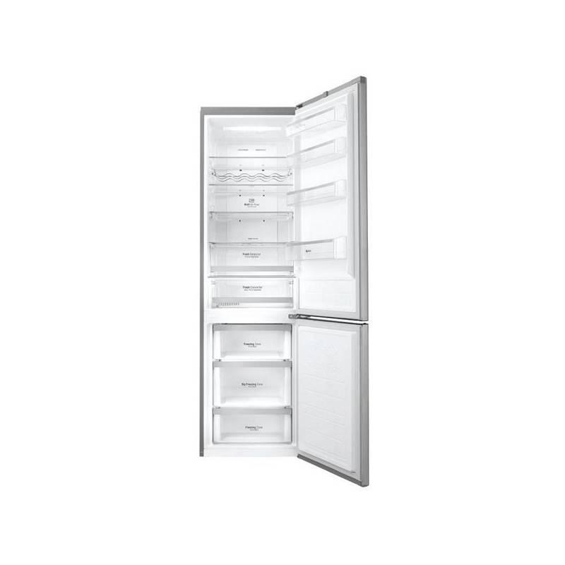 Kombinácia chladničky s mrazničkou LG GBB60PZFZS nerez + Doprava zadarmo