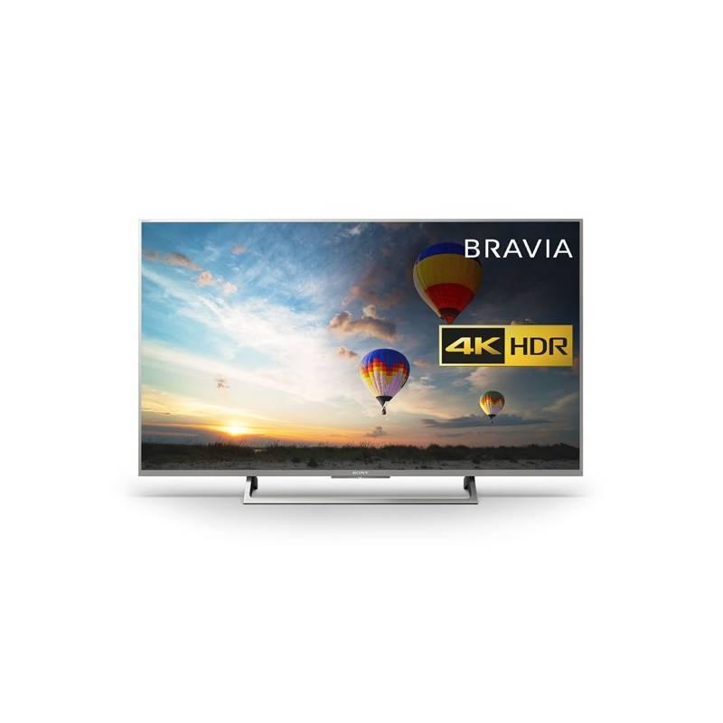 Televízor Sony KD-49XE8077S strieborná + Doprava zadarmo