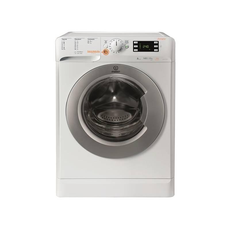 Automatická pračka se sušičkou Indesit XWDE 961480X WSSS EU bílá