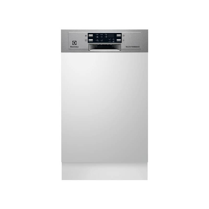 Umývačka riadu Electrolux Slimline ESI4621LOX + Doprava zadarmo