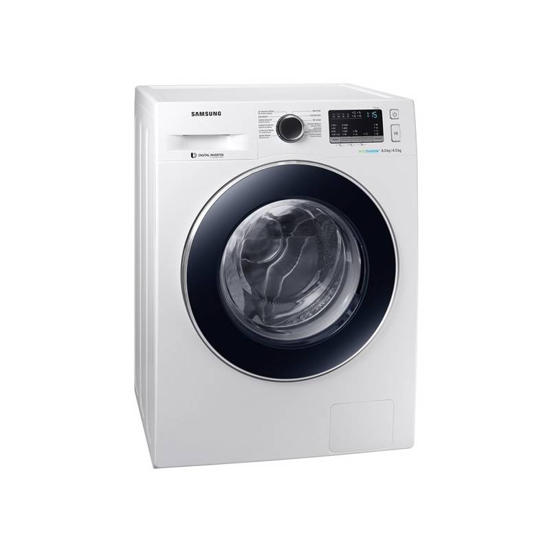 Automatická práčka so sušičkou Samsung WD80M4A43JW/ZE biela + Doprava zadarmo