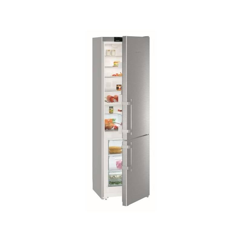 Kombinácia chladničky s mrazničkou Liebherr Comfort CUef 4015 nerez + Doprava zadarmo