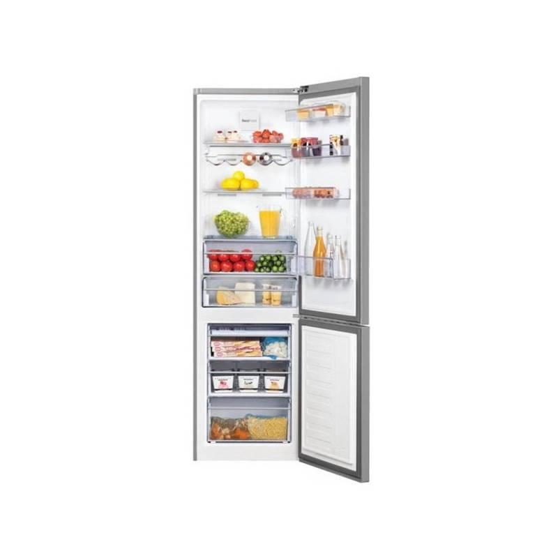 Kombinácia chladničky s mrazničkou Beko CNA 400 EC0ZX nerez + Doprava zadarmo