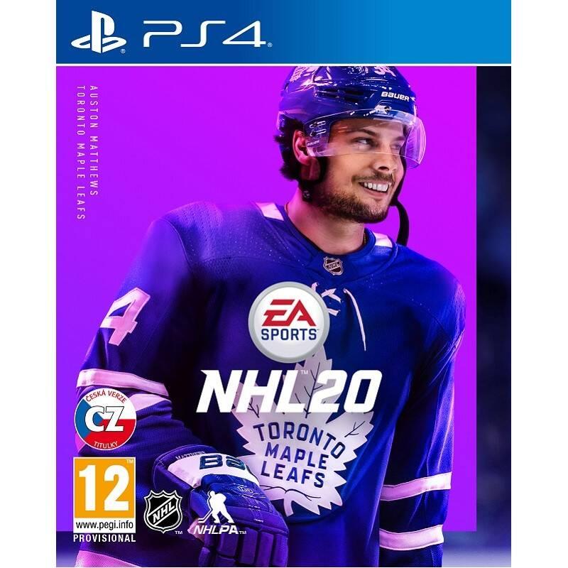 Hra EA PlayStation 4 NHL 20 (EAP454551)