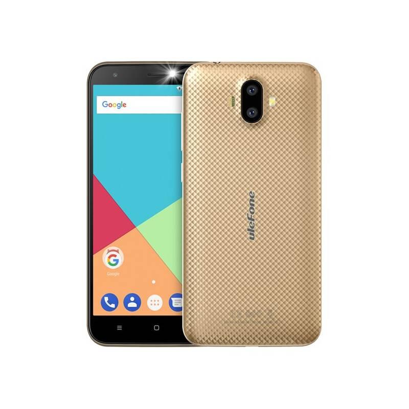 Mobilný telefón UleFone S7 Pro Dual SIM (ULE000008) zlatý