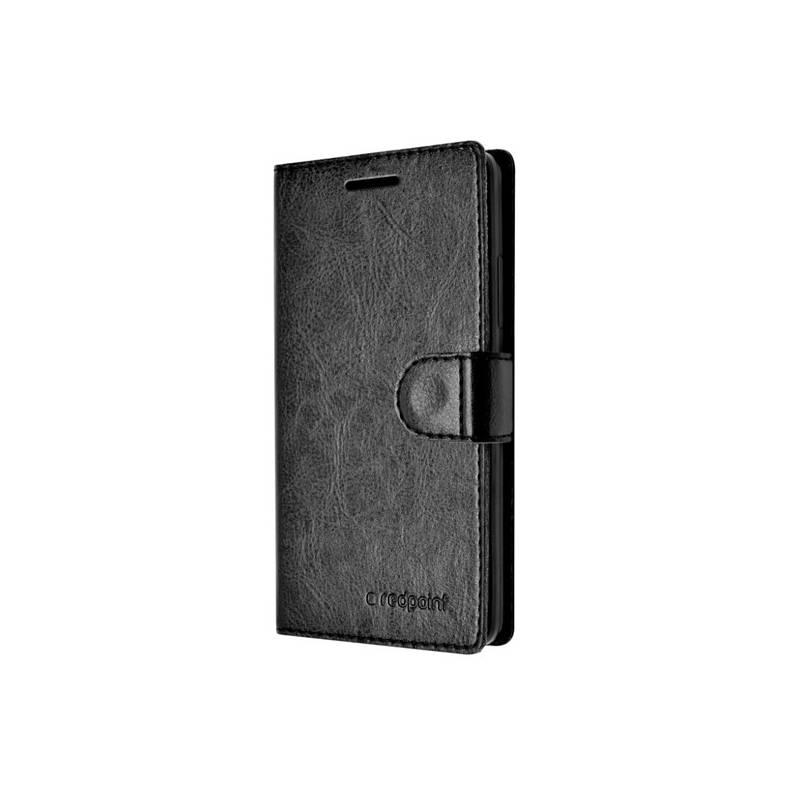 Pouzdro na mobil flipové FIXED FIT pro Lenovo Vibe K5 K5 Plus  (FIXRP-FIT084-BK) černá barva cf6591b09e8
