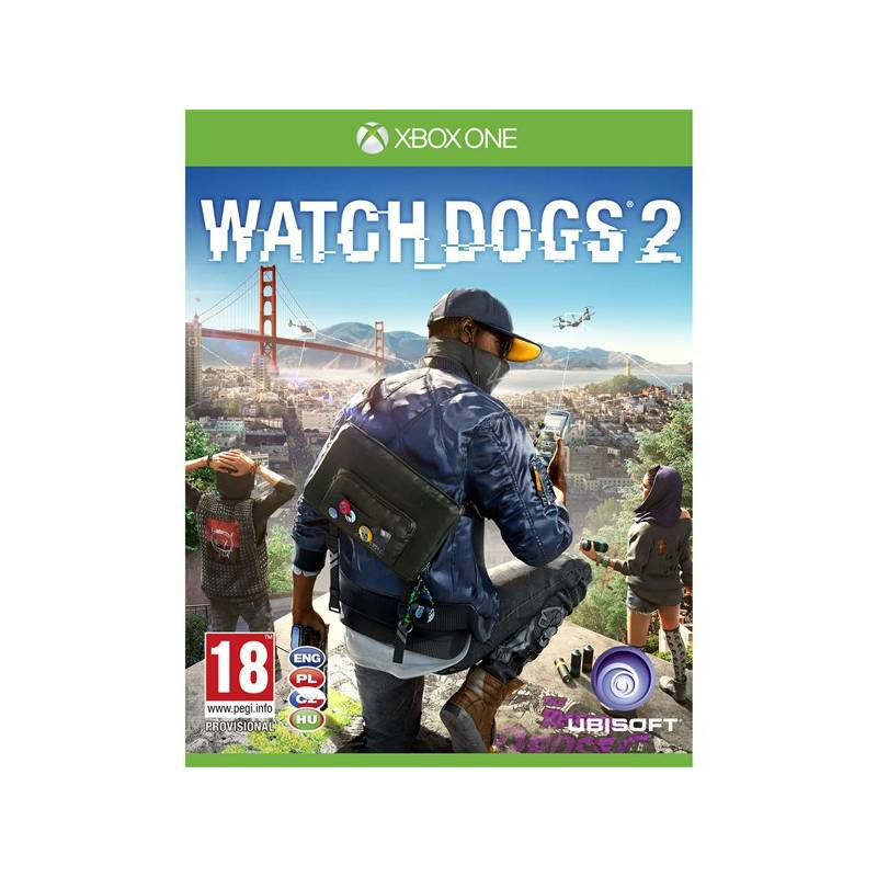 Hra Ubisoft Xbox One Watch Dogs 2 (USX384103)