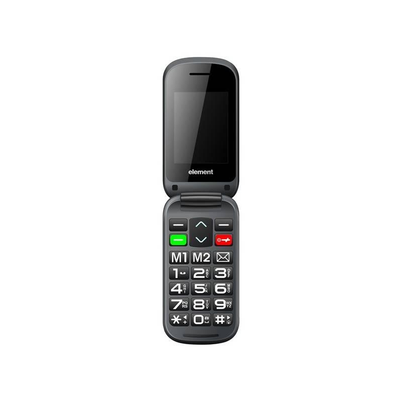 Mobilný telefón Sencor Element P006S (30014942) čierny Software F-Secure SAFE, 3 zařízení / 6 měsíců (zdarma)