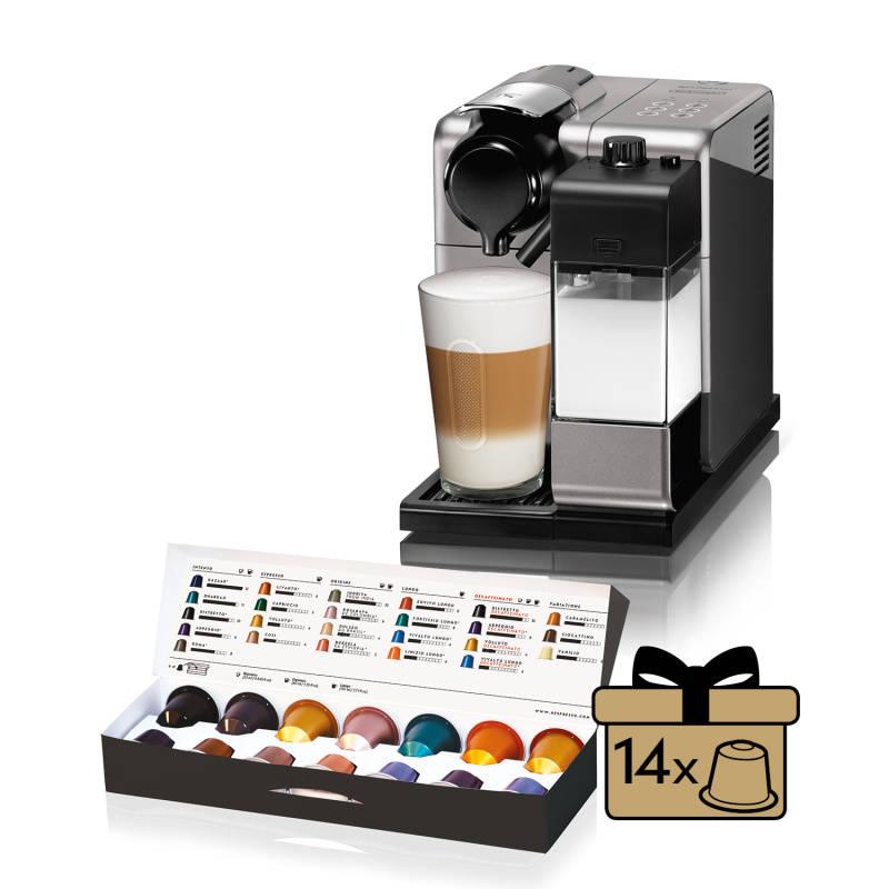 Espresso DeLonghi Nespresso Lattissima Touch EN550.S strieborné